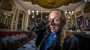 magicien brest restaurant