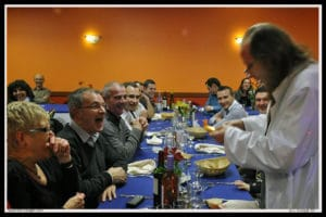 Magicien en restaurant Brest