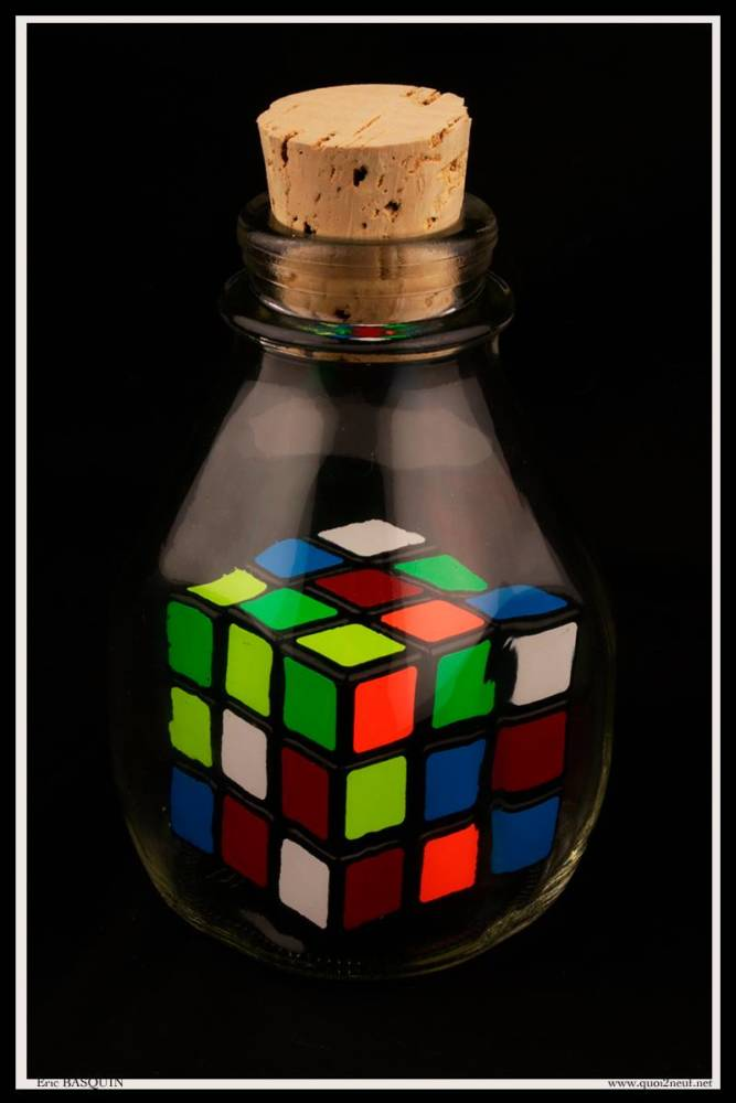 Rubik's Cube Bouteille collector