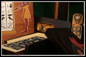 boîte sarcophage momie