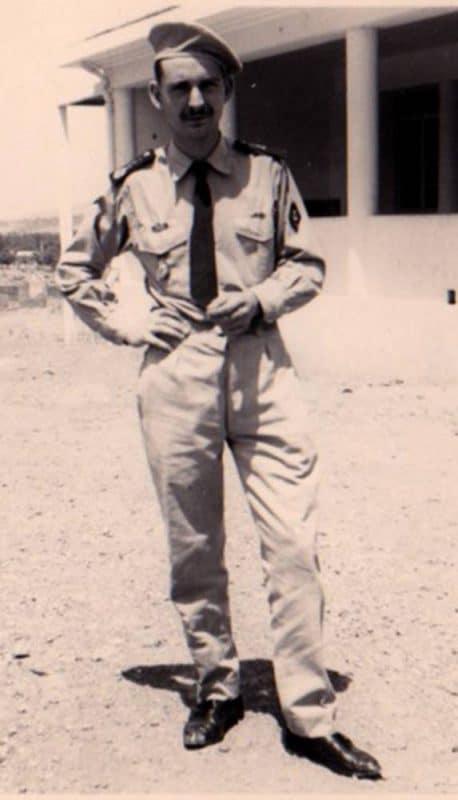 Service militaire en Algérie…